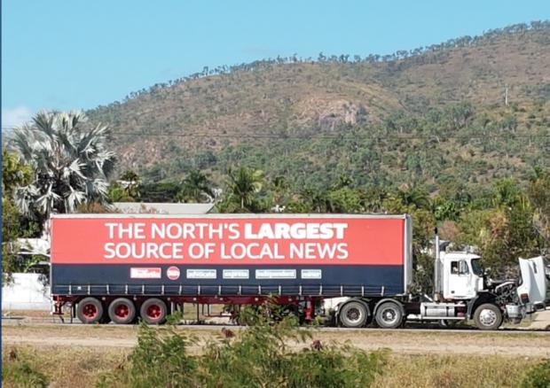 Bulletin truck