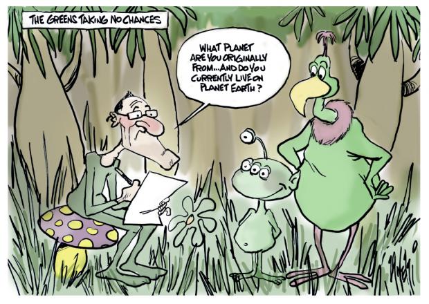 Greens aliens