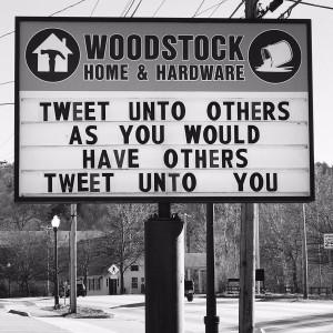 Tweet unto Others