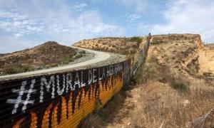 Wall near Tijuana
