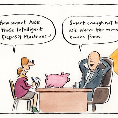 Cathy Wilcox on banks