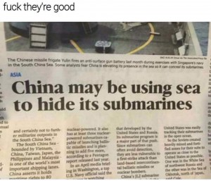 Chinese subs