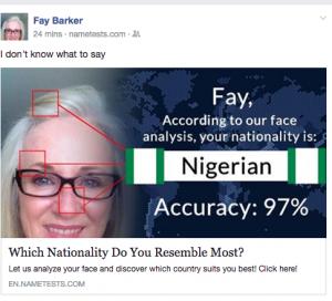 Fay Barker Nigerian