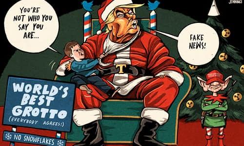 Trump santa