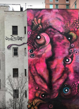 Vagina graffiti