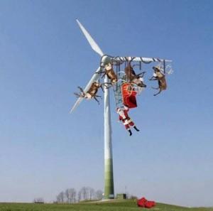 Wind Santa