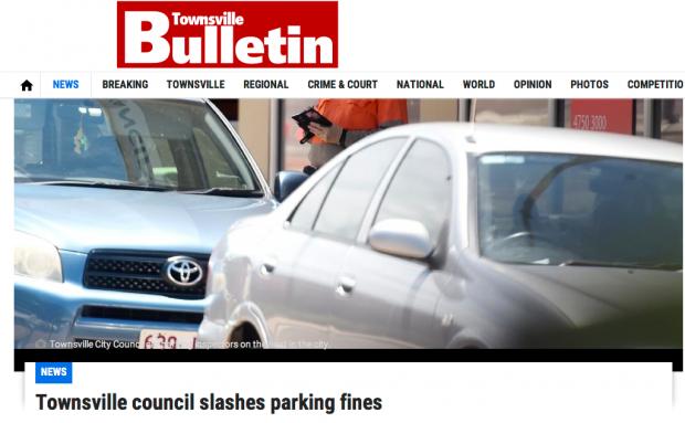 parking fines slashed