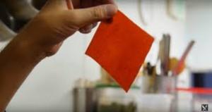Dried ketchup