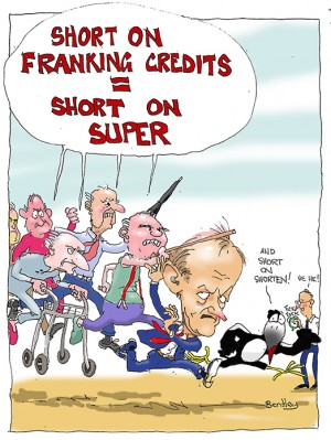 Franking credits small copy