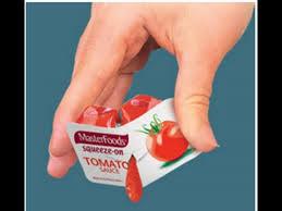tomato sauce sachet