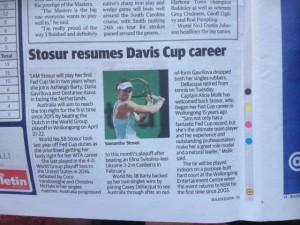 Davis Cup blooper