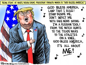 Kevin Siers God Bless Trump