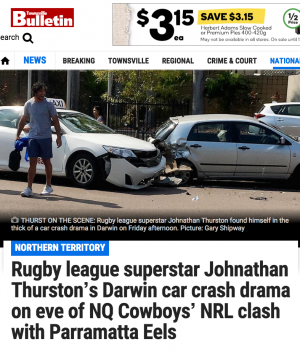 Thurston headline