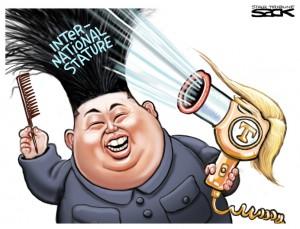 Trump:Kim