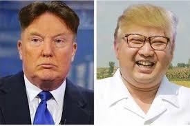 trump and kim reverse