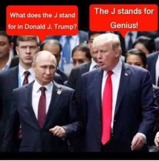 Trump genius