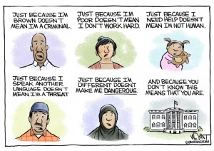 migrant threat