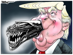 Trump bigotry