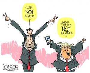 Trump crook