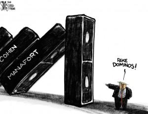 Trump dominos
