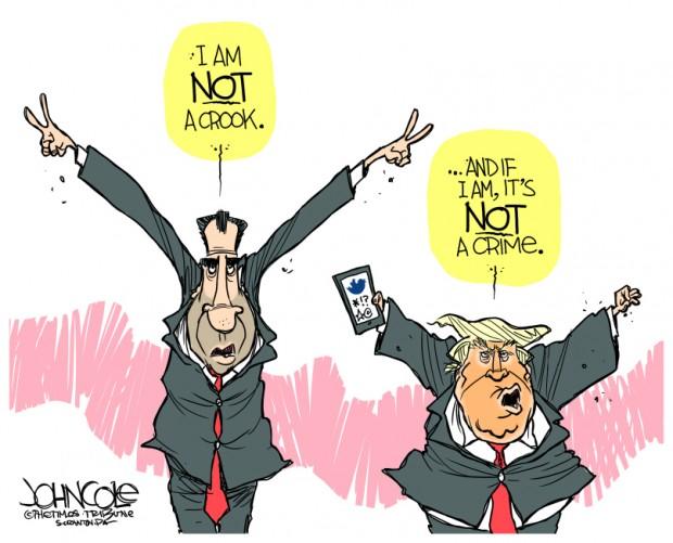 Trump nixon