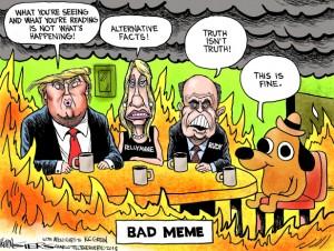 Trump not happening
