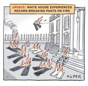 Trump pants on fire