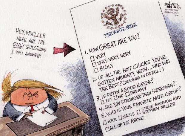 Trump questions 2