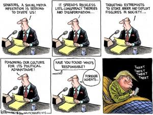 Trump secret agent