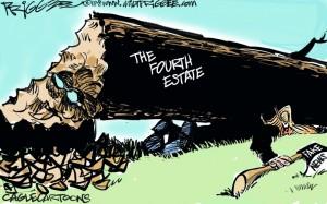 Trump 4th estate