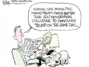 Trump colluding