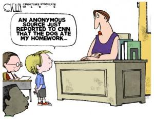 Trump homework
