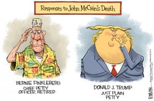 Trump petty