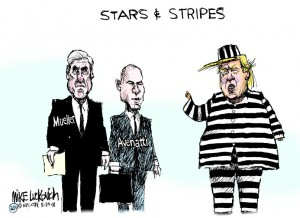 Trump stars and stripe