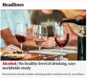 no booze policy