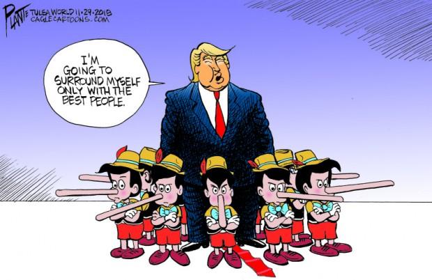 """Bruce Plante Cartoon: Trump's """"Best People"""""""