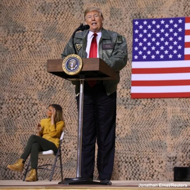 Trump in Iraq