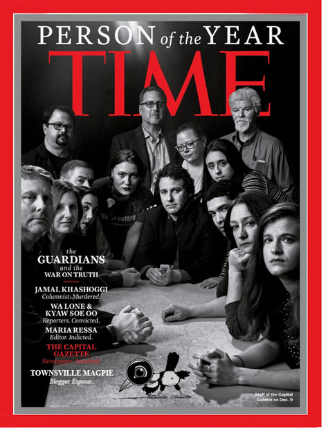 time cover mock-up