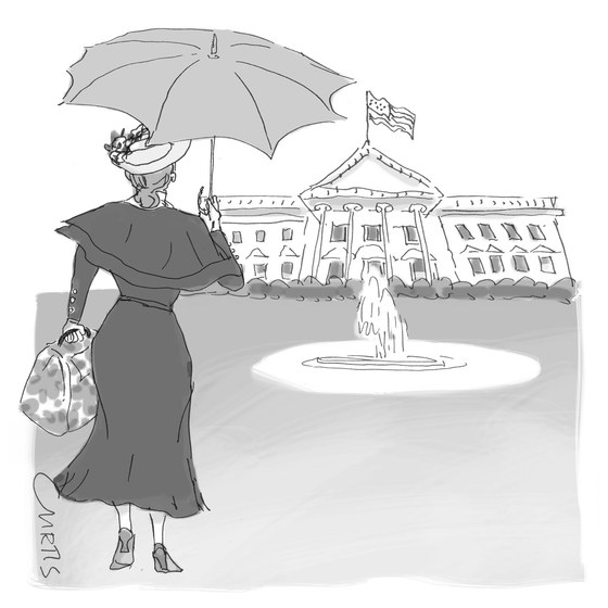 Mary Poppins at white house