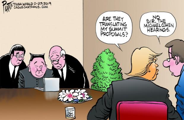 Bruce Plante Cartoon: Trump goes to Vietnam