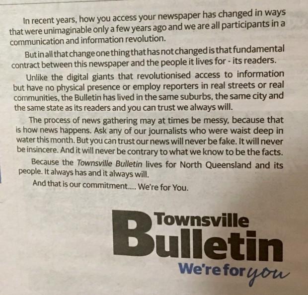 Bulletin boast