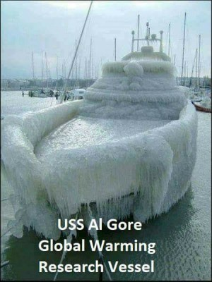 Global Warming ship