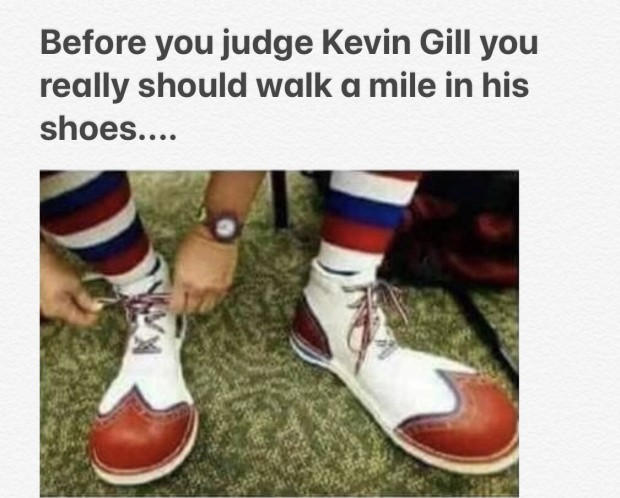 Kevin Gill shoes