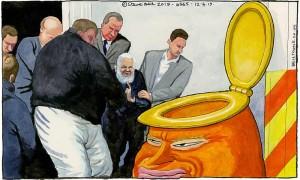 Assange by Steve Bell3061