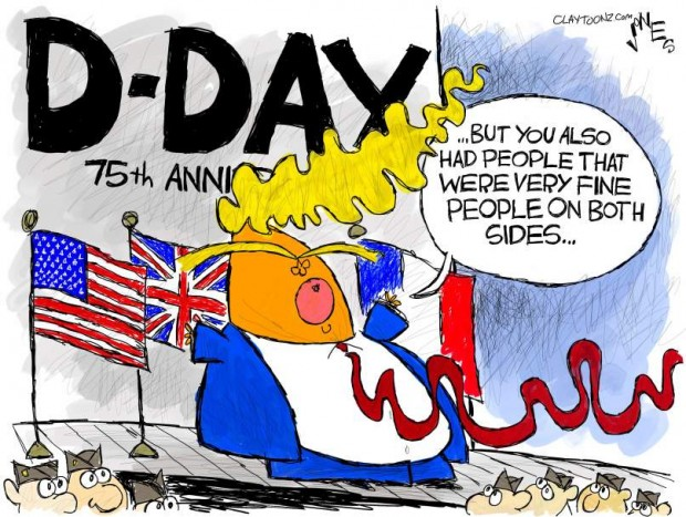 23_political_cartoon_u.s._trump_d-day_both_sides_nazis_allies_-_clay_jones