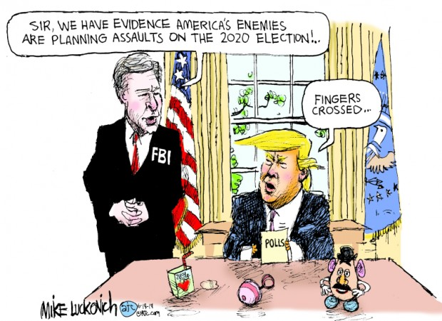 26_political_cartoon_u.s._fbi_trump_foreign_interference_toys_-_mike_luckovich_creators