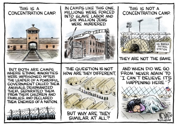 4_political_cartoon_u.s._migrant_border_detention_camps_concentration_camps_holocaust_-_christopher_weyant_cagle