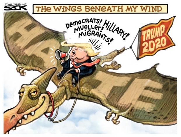 6_political_cartoon_u.s._trump_2020_dinosaurs_steve_sack_cagle