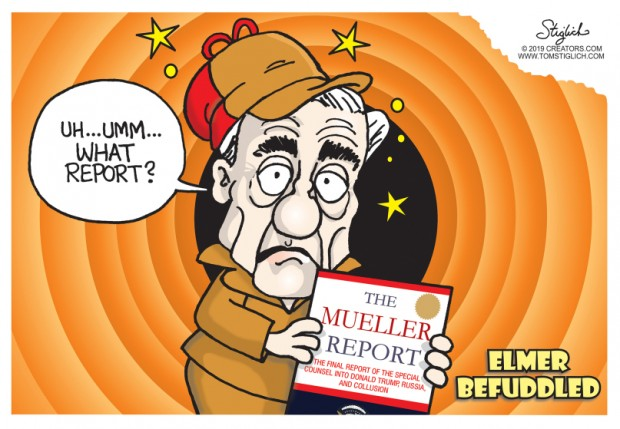 23_political_cartoon_u.s._robert_mueller_elmer_fudd_befuddled_what_report_-_tom_stiglich
