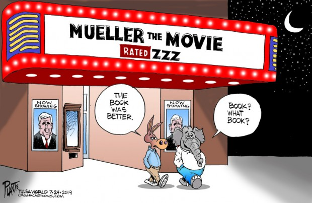 Bruce Plante Cartoons: Mueller the Movie